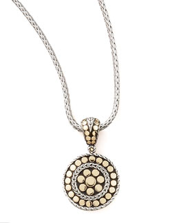 John Hardy Jaisalmer Round Pendant, Small