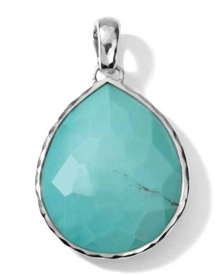 Giant Turquoise Teardrop Enhancer