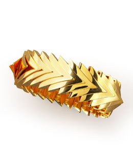 Eddie Borgo Overlapping Triangle Bracelet