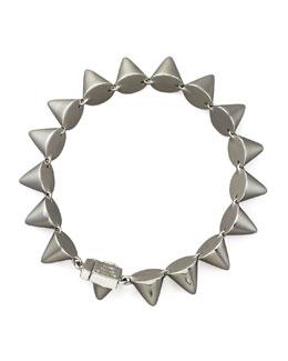 Eddie Borgo Small Cone Bracelet, Silver