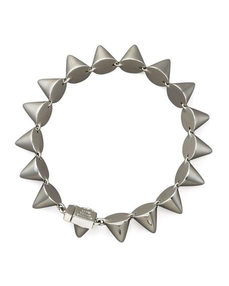 Small Cone Bracelet, Silver