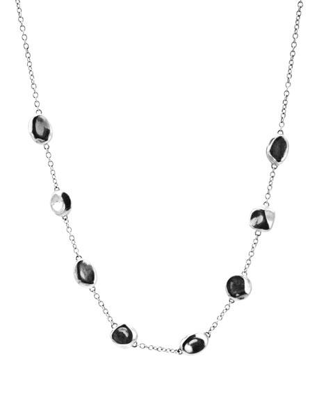 Glamazon Silver Bead Necklace