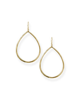 Ippolita Wire Teardrop Hoop Earrings, Large