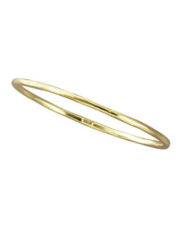 Ippolita Thin Faceted Bangle