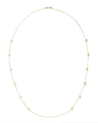 "Glamazon Gelato Necklace, 38""L"