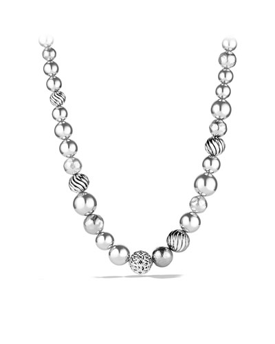 David Yurman DY Elements Single-Row Necklace
