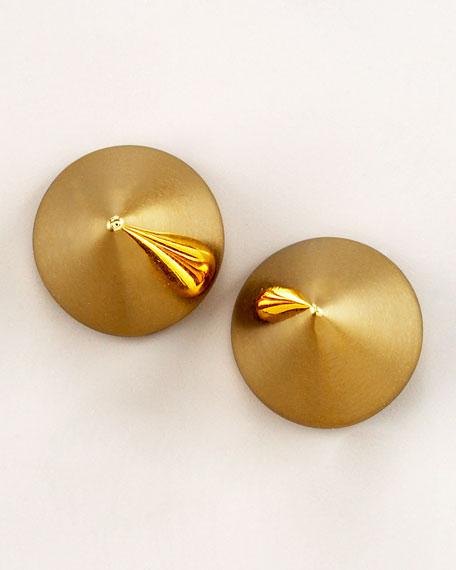 Cone Stud Earrings
