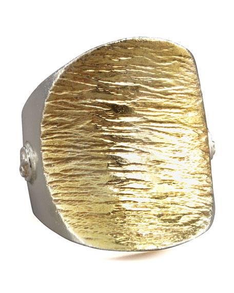 Textured Saddle Ring
