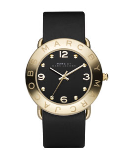 MARC by Marc Jacobs Amy Watch, Black