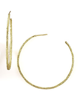 Dominique Cohen Textured Hoop Earrings