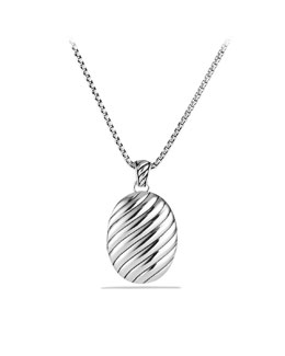 David Yurman Sculpted Cable Locket