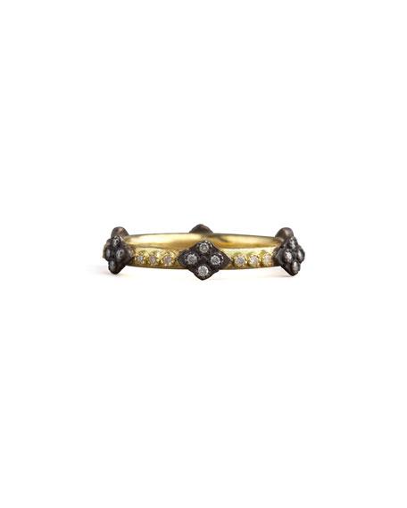Crivelli Cross Diamond Ring, Gold