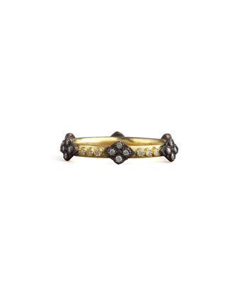 Cravelli Cross Diamond Ring, Gold