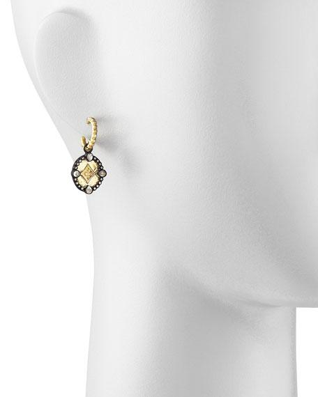 Shield Drop Earrings