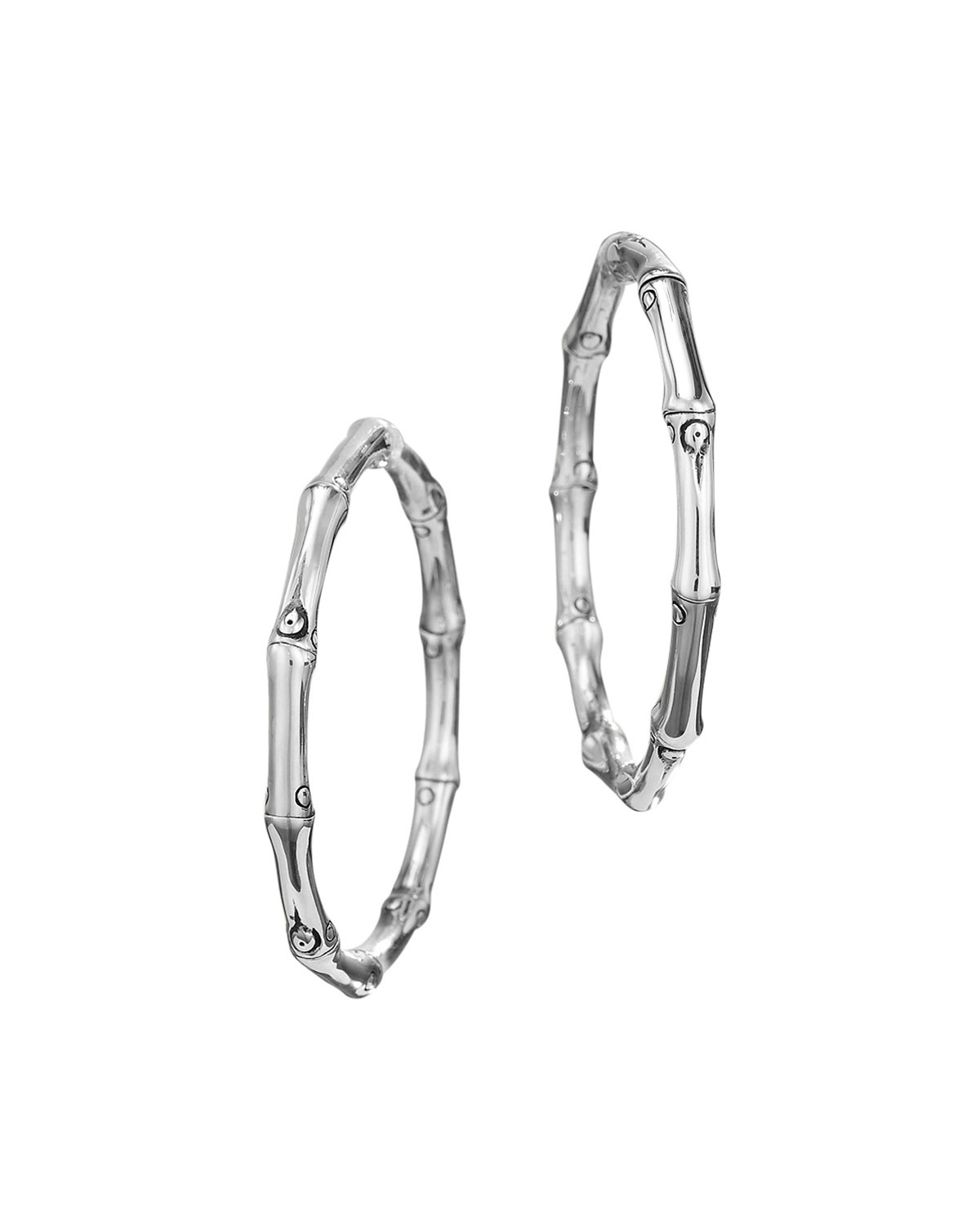 John Hardybamboo Hoop Earrings