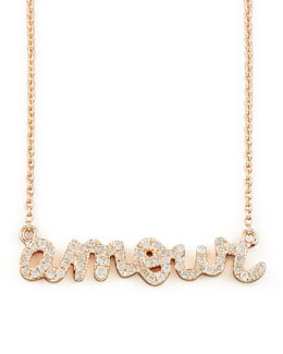 Sydney Evan Diamond Amour Necklace