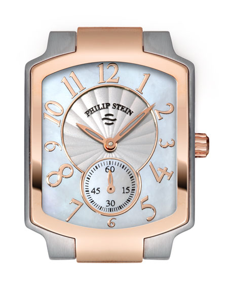 Small Classic Two-Tone Rose Gold Watch Head