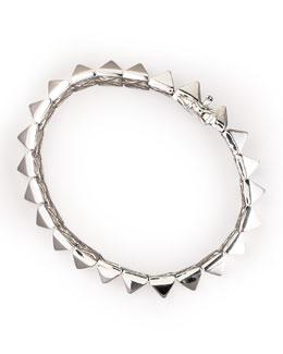 Eddie Borgo Pyramid Bracelet, Silver
