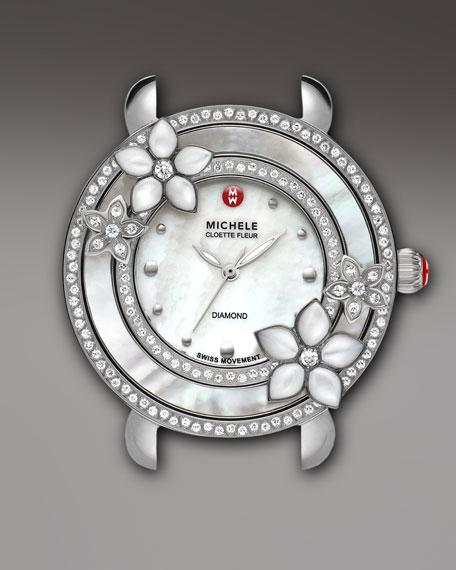 Cloette Fleur Diamond Watch Head
