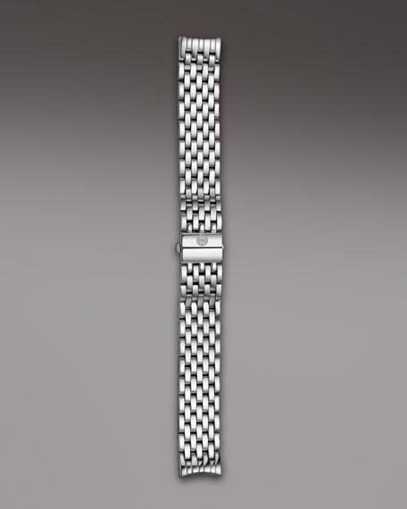 16mm Cloette Bracelet Strap, Stainless Steel