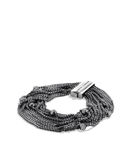 Sixteen-Row Chain Bracelet with Diamonds
