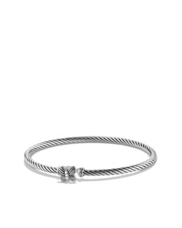 David Yurman Cable Collectibles Butterfly Bracelet with Diamonds