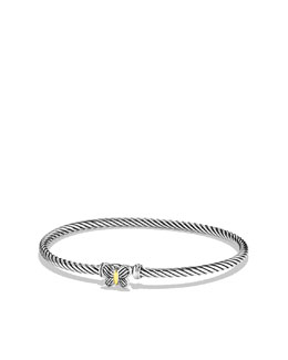 David Yurman Cable Collectibles Butterfly Bracelet