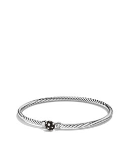 David Yurman Cable Collectibles Starlight Bracelet with Diamonds