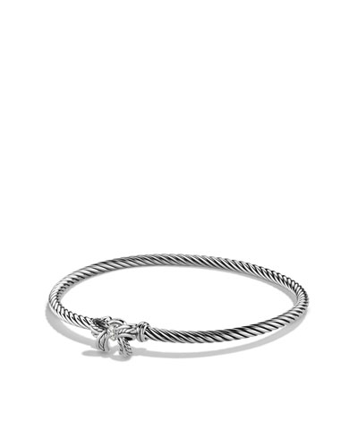 David Yurman Cable Collectibles Ribbon Bracelet with Diamonds