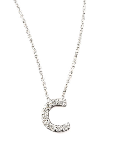 KC Designs Diamond Letter Necklace, C