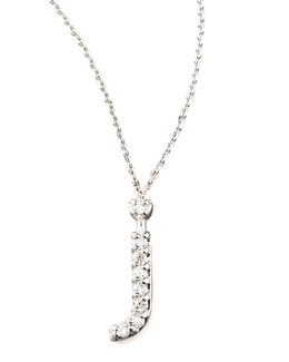 KC Designs Diamond Letter Necklace, J