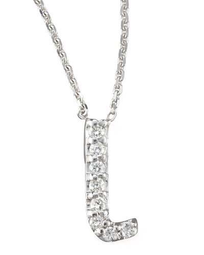 KC Designs Diamond Letter Necklace, L