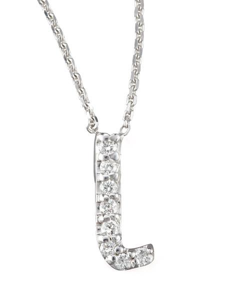 KC Designs Diamond Letter Necklace, L
