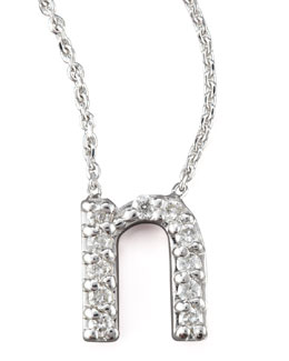 KC Designs Diamond Letter Necklace, N