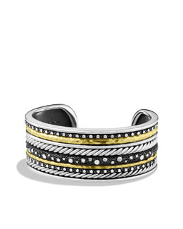 David Yurman Midnight Mélange Cuff with Diamonds