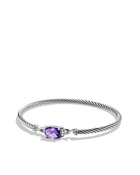 Petite Wheaton Bracelet with Amethyst