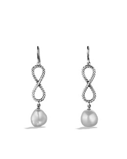 David Yurman Confetti Figure-Eight Drop Earrings with Pearls