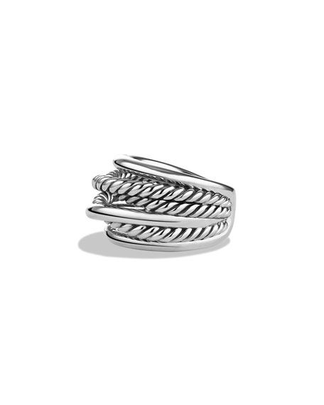 David Yurman Crossover Narrow Ring