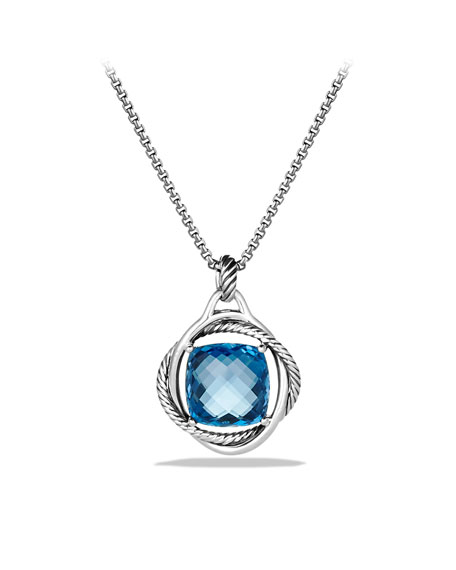 Infinity Pendant with Hampton Blue Topaz