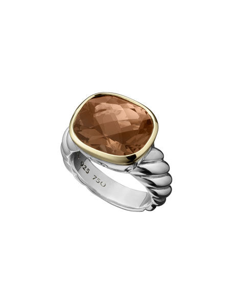 Noblesse Ring, Smoky Quartz