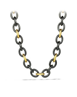 David Yurman Oval Extra Large Link Necklace