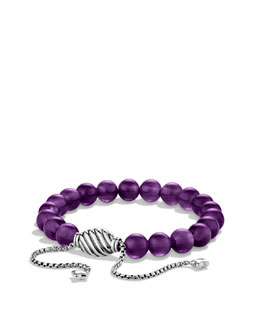 David Yurman Spiritual Beads Bracelet with Amethyst