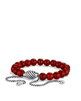 David Yurman Spiritual Beads Bracelet with Carnelian