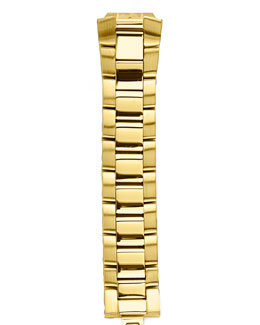 Philip Stein Gold-Plated Bracelet, 18mm