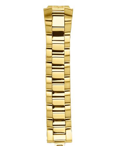 Philip Stein Gold-Plated Bracelet, 18mm