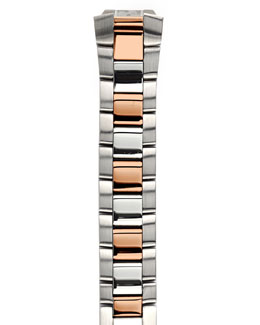 Philip Stein Two-Tone Rose Gold Bracelet, 18mm