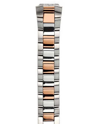 Philip Stein Two-Tone Rose Gold Bracelet, 18mm