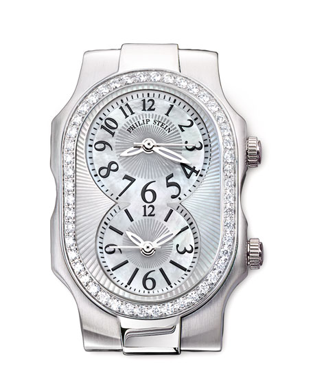 Small Signature Diamond Watch Head