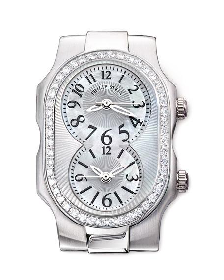 Small Signature Diamond Watch Head