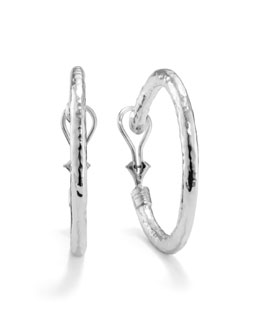 Ippolita Glamazon Clip Hoop Earrings